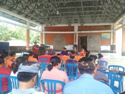 Pembinaan lomba desa dari kecamatan kubutambahan