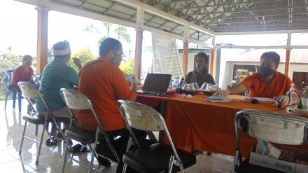 Penyaluran Bantuan Sosial Tunai (BST) Kemensos Pusat Tahap 1